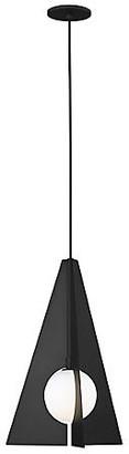 Tech Lighting Orbel Pyramid Pendant - Matte Black