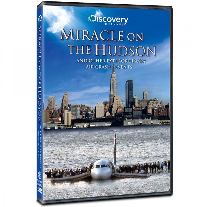Discovery Miracle On The Hudson DVD