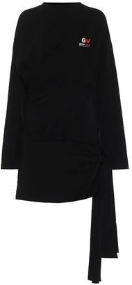 Balenciaga Stretch-cotton minidress