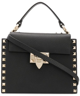 Valentino Rockstud top handle bag