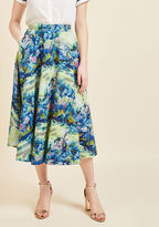 Divine on the Daily Midi Skirt in S