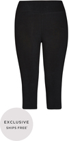 City Chic 3/4 Wide Band Legging