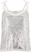 Oasis Frosted Sequin Cami