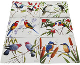 Maxwell & Williams Birds of Australia Eric Shepard Placemats Set Of 6
