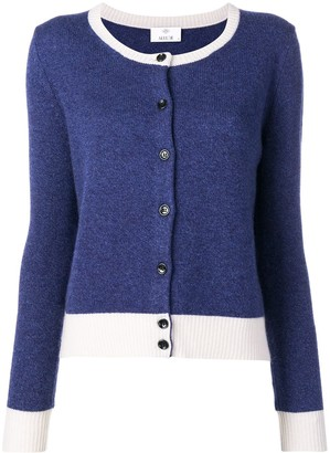 Allude Colour-Block Cardigan