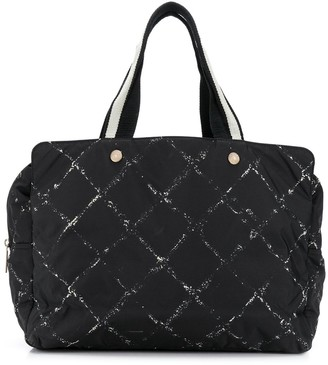 Chanel Pre Owned Diamond-Quilted Tote Bag