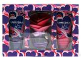 Someday Ladies By Justin Bieber Giftset- 1.7 Spray/ 3.4 Body Lotion/ 3.4 Body Wash.