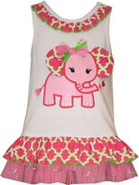 Bonnie Jean Sleeveless Coverall Dress - Baby Girls 12m-24m