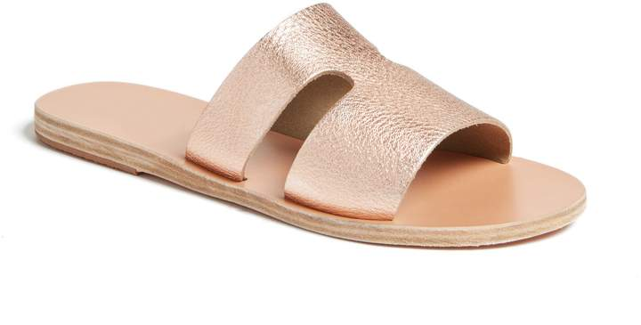 Ancient Greek Sandals Apteros Slide Sandal