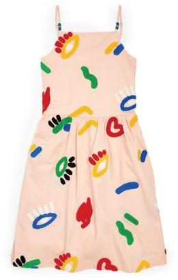 Stella McCartney Face-Embellished Dress