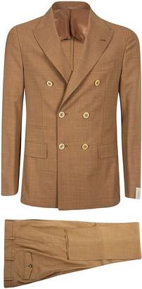 Eleventy Two Pocket Buttoned Jacket Suit