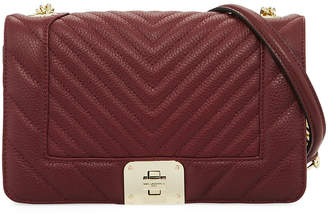 Karl Lagerfeld Paris Lara Quilted Leather Box Shoulder Bag