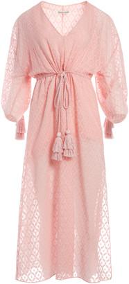 Alice + Olivia Esmeralda Side Slit Midi Dress