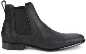 Vince Round Toe Slip-On Boots