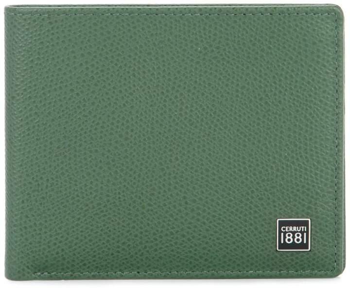 Cerruti logo plaque billfold wallet