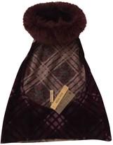 Blumarine Purple Wool Top for Women