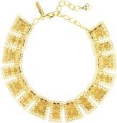 Oscar de la Renta Scalloped Edge Necklace