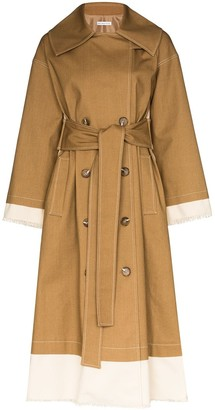 REJINA PYO Gladys two-tone trench coat