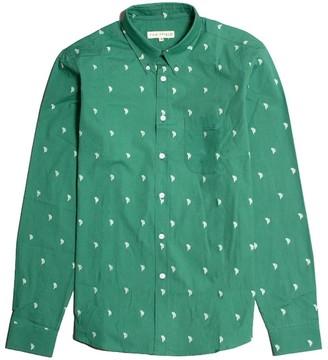 Far Afield Mod Button Down Long Sleeve Shirt - Cactus