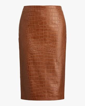 Ralph Lauren Collection Cynthia Straight Skirt