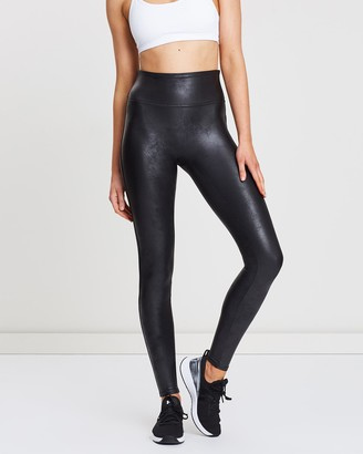 Spanx Women's Black Leather Pants - Faux Leather Leggings - Size One Size, S at The Iconic