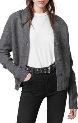 AllSaints Rufa Wool Blend Cardigan