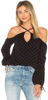 Lovers + Friends Stone Top in Black. - size M (also in S,XS)