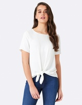 Forever New Tilly Tie Front Tee