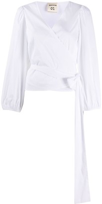 Semi-Couture Semicouture V-neck wrap blouse