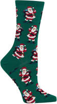 Hot Sox Women's Santa With Presents Socks