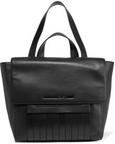 McQ by Alexander McQueen Swank paneled leather shoulder bag