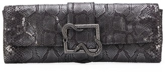 Just Cavalli Snake Buckle Clutch