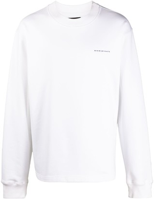 Styland NotRainProof oversized cotton sweatshirt