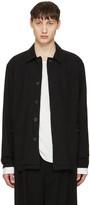 Robert Geller Black Cotton Jacket