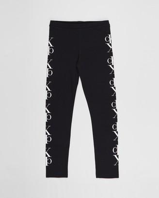 Calvin Klein Jeans Mirror Monogram Leggings - Teens