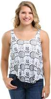 Freeze Juniors womens Mickey Mouse Drawn Allover Print Juniors Racerback