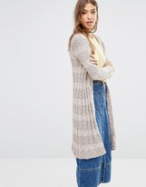 Free People Free Spirit Cardigan In Multi Strpe