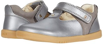 Bobux I-Walk Louise T-Bar (Toddler) (Charcoal Shimmer 2) Girl's Shoes