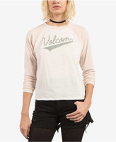 Volcom Juniors' True To This Raglan Top