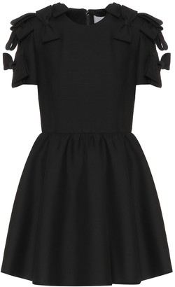 Valentino Wool and silk minidress