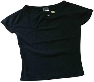 Versus Black Cotton Top for Women