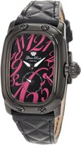 Glam Rock Women's Monogram Dial Quilted Patent Leather Watch GLAMROCK-GR72304