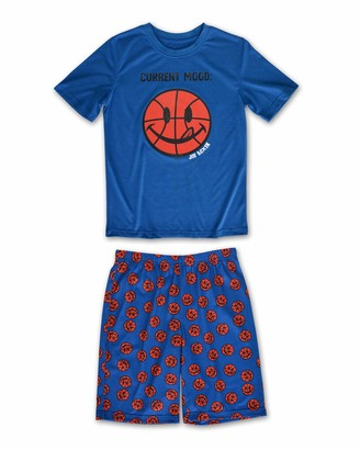 Joe Boxer Boys Bball Tee and Short Set