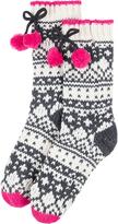 Accessorize Monochrome Slipper Socks