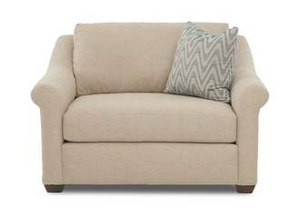 "Birch Laneâ""¢ Heritage JArAmy Chair and a Half Birch Lanea Heritage Upholstery Material/Body Fabric: Alcott Sand"