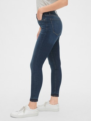 Gap High Rise True Skinny Ankle Jeans in Sculpt with Secret Smoothing Pockets