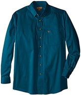 Ariat Men's Big and Tall Solid Twill Shirt