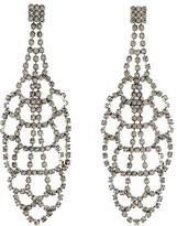 Tom Binns Crystal Chandelier Drop Earrings