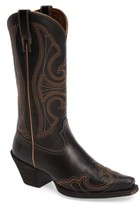 Ariat Women's Round Up D-Toe Wingtip Western Boot