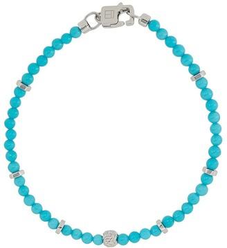 Tateossian small Nodo beaded bracelet